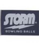Storm Woven Towel navy/grey