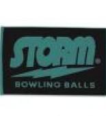 Storm Woven Towel teal/black