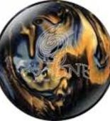 Ebonite Cyclone-black/gold/silver