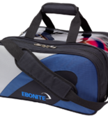 Team Ebonite Double Tote navy/silver