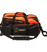 Hammer Triple Tote blk/orange with Removable Pouch