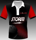 Storm black pins