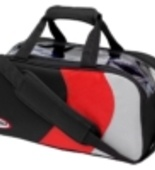 Columbia 300 Pro Double Tote blk/red/silver