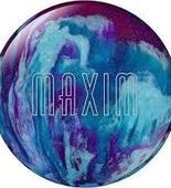 Ebonite Maxim purple/royal/silver