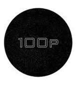 Track 100P Black/sparkle