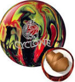 Ebonite Cyclone black/red/yellow