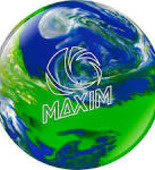 Ebonite Maxim cool water/sea green/silver cloud
