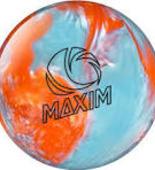 WYPRZEDAŻ! Ebonite Maxim Orange Crystal
