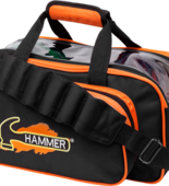 Hammer Double Tote blk/orange