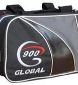 Global 900 2-ball Tote blk/silver