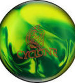 Ebonite Cyclone green/yellow Pearl