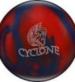 Ebonite Cyclone blue/red Sparkle