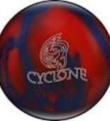 WYPRZEDAŻ! Ebonite Cyclone blue/red Sparkle