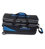 Brunswick Team Slim with shoes Black/Cobalt Blue