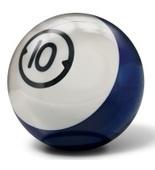 Houseball Billiard 10 lbs Drilled