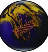 Ebonite Verdict Pearl smoke/violet/gold