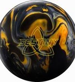 Ebonite Destiny HYBRID blk/gold/silver