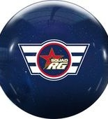 Roto Grip Squad RG Clear Poly Blue Sparkle