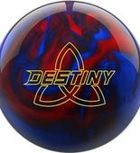 Ebonite Destiny Pearl black/red/blue