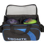 Ebonite 2-ball Equinox Double Tote blue/black
