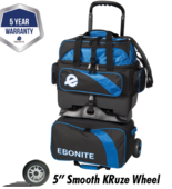 Ebonite Equinox 4-ball Roller blue/black