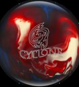 WYPRZEDAŻ! Ebonite Cyclone red/white/blue