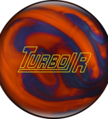 WYPRZEDAŻ! Ebonite Turbo/R orange/blue pearls