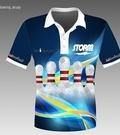 Koszulka bowlingowa POLO - Storm Pin Blue