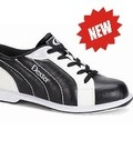 Buty damskie bowlingowe - WYPRZEDAŻ Dexter Groove II black/white/silver trim