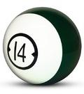 - Urethane Billard Ball Drilled Houseball