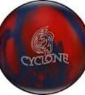 kula bowlingowa - WYPRZEDAŻ! Ebonite Cyclone blue/red Sparkle