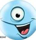 Bowling Ball - Blue Monster OTBB-A11-0001