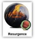 kula bowlingowa - Columbia 300 Resurgence black/gold/silver