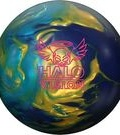 Bowling Ball - ARoto Grip Halo Vision Gold&Sky blue Pearl/Purple Solid
