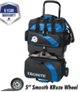 - Ebonite Equinox 4-ball Roller blue/black